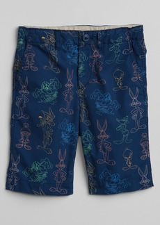 "Gap &#124 Looney Tunes 8.5"" Shorts in Poplin"