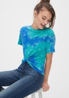Gap 50th Anniversary Authentic Tie-Dye Crewneck T-Shirt