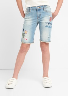 Gap for Good Embroidery Bermuda Shorts