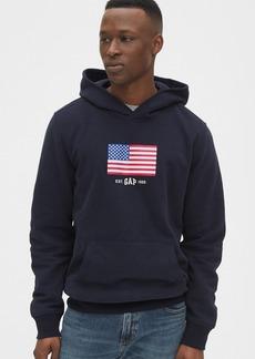 Gap Logo Flag Hoodie