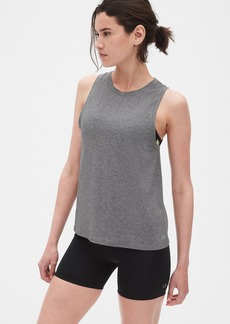 GapFit Breathe Muscle Tank with Seam Detail