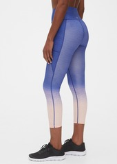 GapFit High Rise Print Pocket 7/8 Leggings in Sculpt Revolution