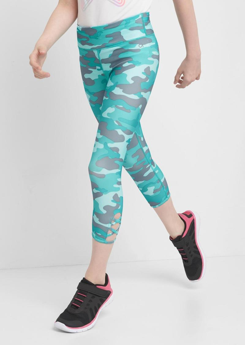 2341d0f487c19 Gap GapFit kids camo sport capri leggings | Casual Pants