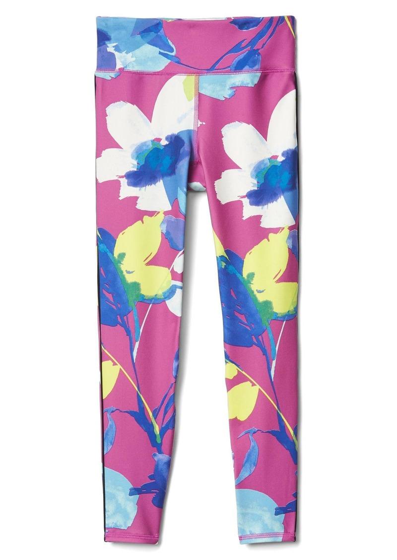 5fa55e257e20c Gap GapFit kids floral piped sport leggings | Casual Pants
