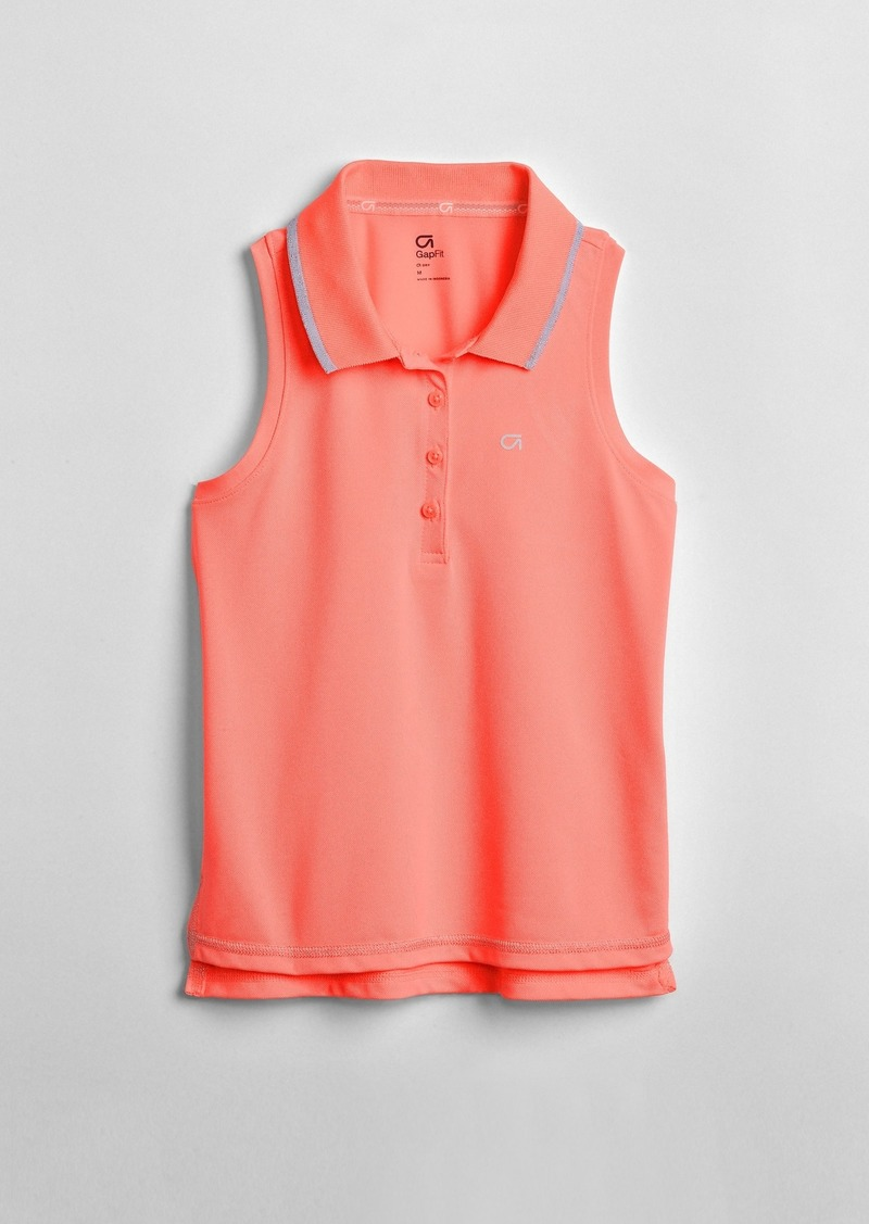 GapFit Kids Polo Tank Top