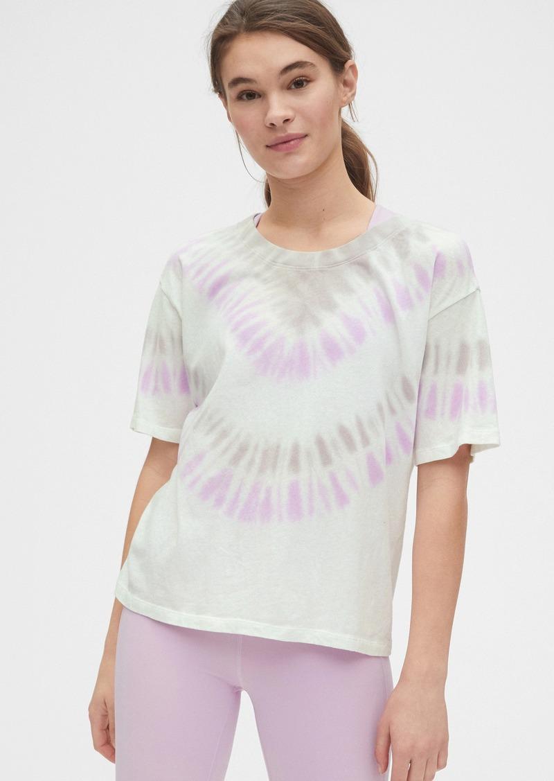 GapFit Oversized Tie-Dye T-Shirt