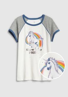GapKids + Pride Graphic Short Sleeve T-Shirt