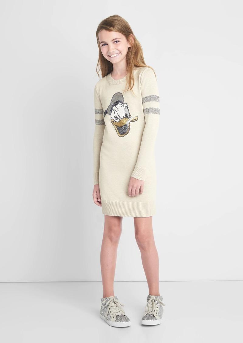 6b277d74a8d Gap GapKids   124 Disney Donald Duck sweater dress