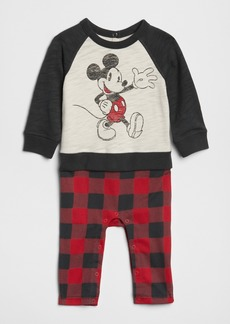 GapKids &#124 Disney Mickey Mouse 2-in-1 One-Piece