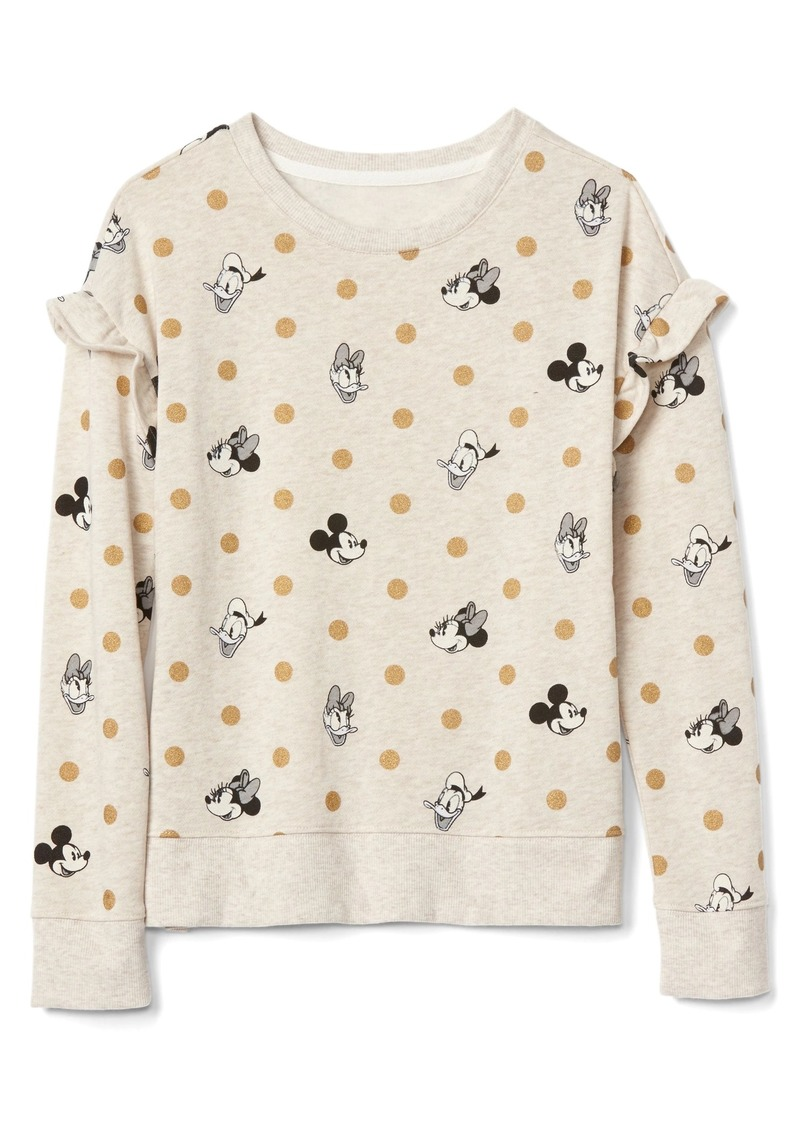 6c01ec57413 GapKids   124 Disney Mickey Mouse and Minnie Mouse ruffle sweatshirt