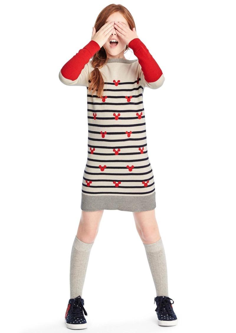 2e7f68b9af0 Gap GapKids   124 Disney Mickey Mouse and stripes sweater dress ...