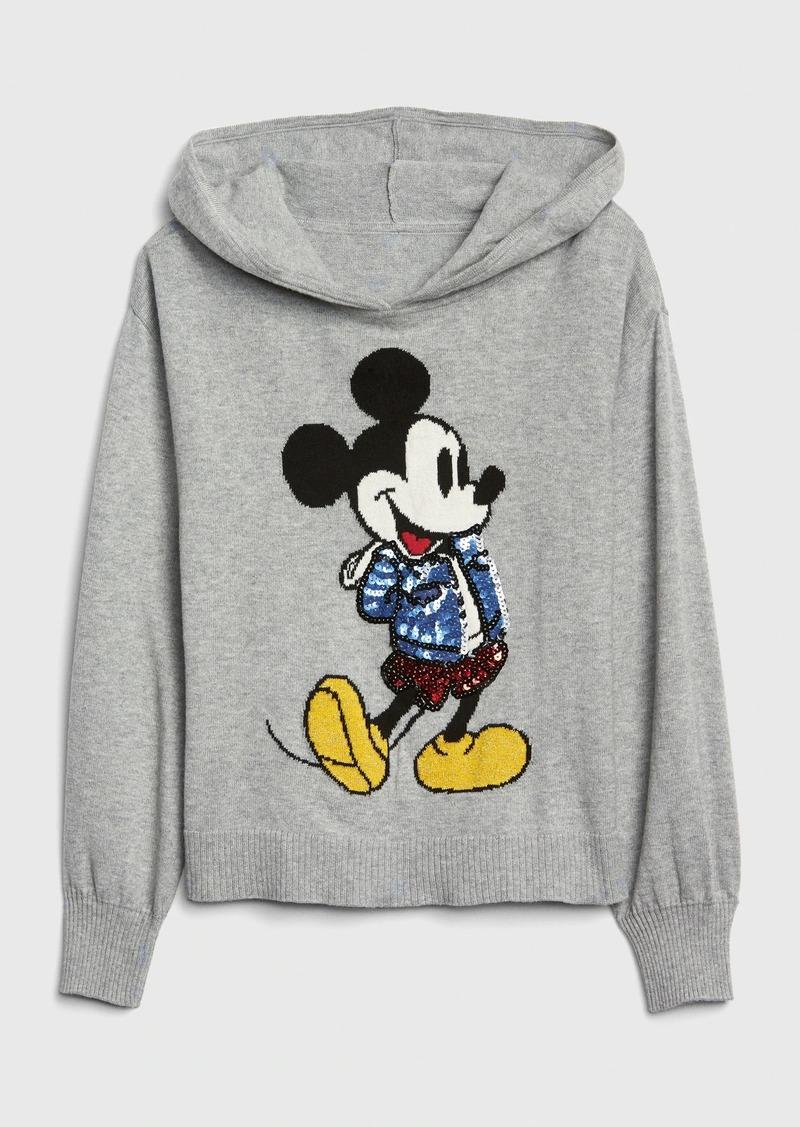 GapKids &#124 Disney Mickey Mouse Hoodie Sweater