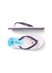GapKids &#124 Disney Princess glitter flip flops