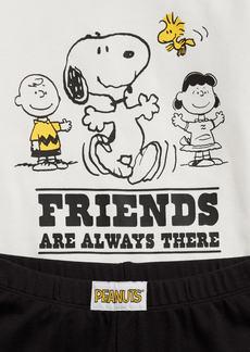 GapKids &#124 Peanuts Graphic 100% Organic Cotton PJ Set