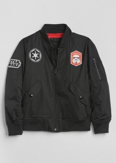 GapKids &#124 Star Wars&#153 Patch Bomber Jacket