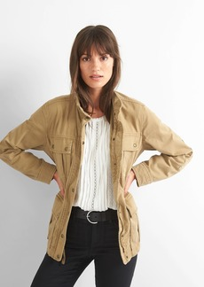 Garment-dye utility jacket