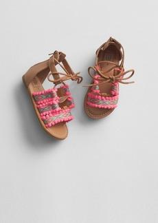 Gap Geometric Pom Sandals