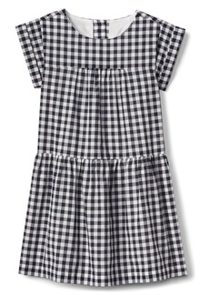 Gap Gingham Drop-Waist Dress