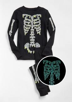 Gap Glow-in-the-Dark Skeleton PJ Set