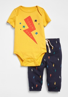 Gap Graphic Bodysuit Set