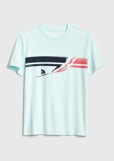 Gap Graphic Crewneck T-Shirt