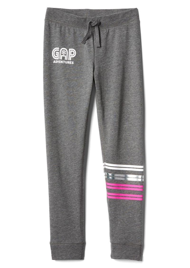 Gap Graphic fleece joggers