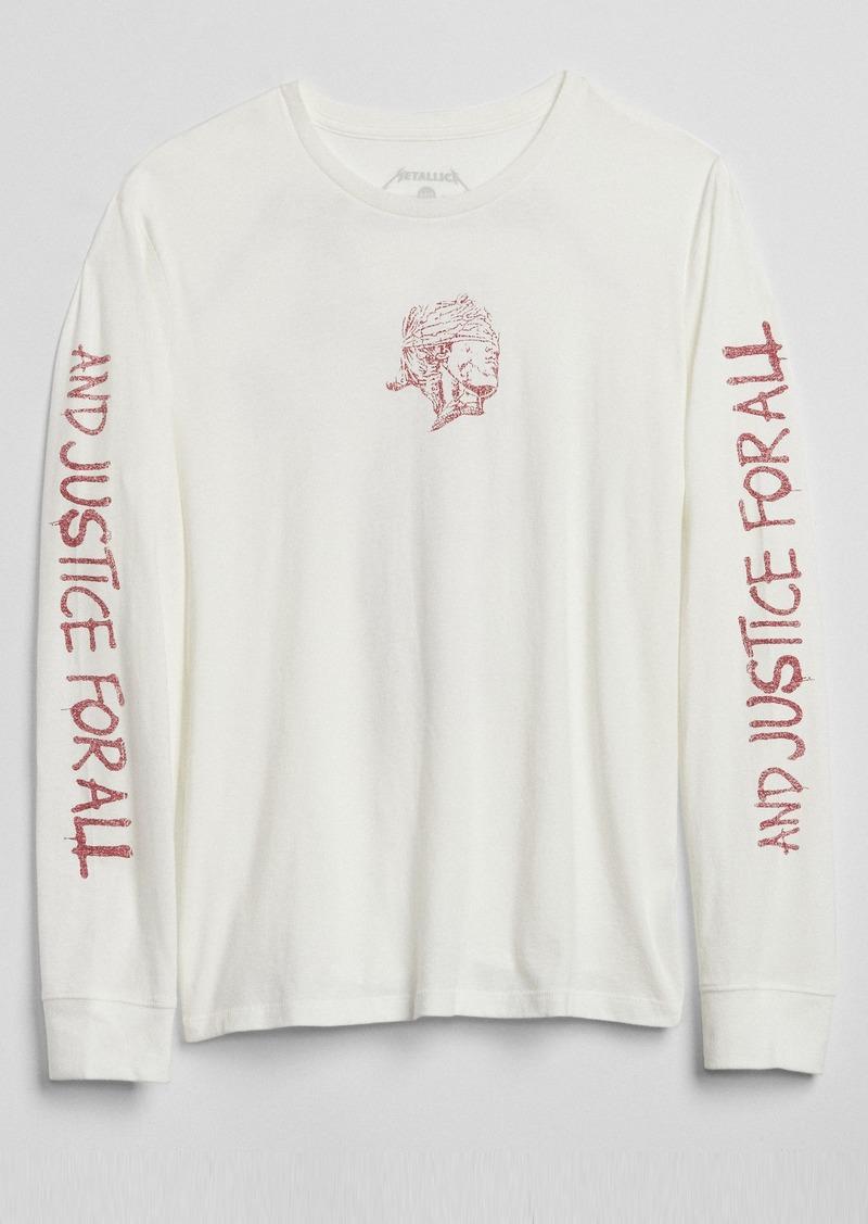 8fe9c367 Gap Graphic Long Sleeve Crewneck T-Shirt | Casual Shirts
