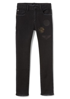 Gap Graphic Patch Slim Jeans with High Stretch