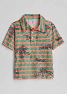 Gap Graphic Pocket Polo T-Shirt