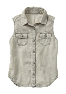 Gap Grey chambray tank