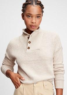Gap Half-Button Sweater