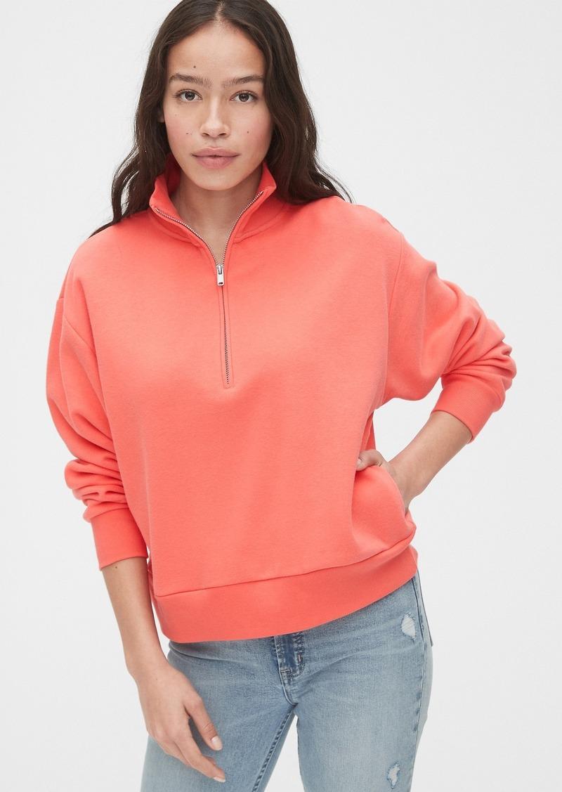 Gap Half-Zip Fleece Sweatshirt