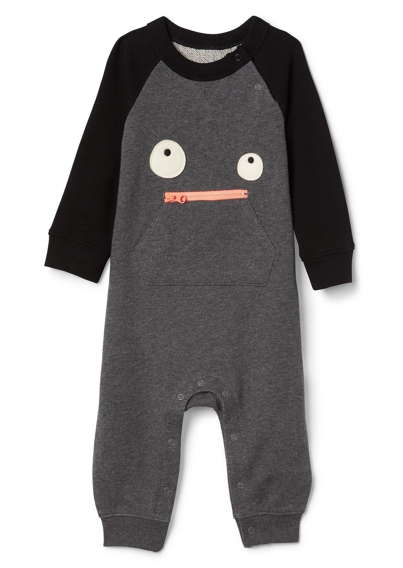 sale! gap halloween monster zip one-piece