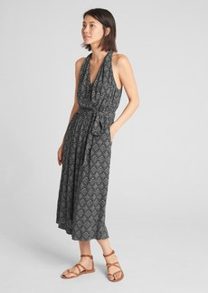 Gap Halter-Neck Jumpsuit