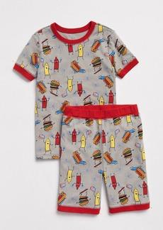 Gap Hamburger Short PJ Set