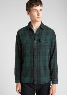 Gap Heavyweight Flannel Overshirt