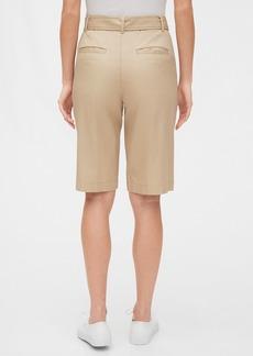 Gap High Rise Belted Bermuda Shorts