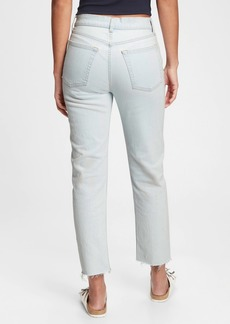 Gap High Rise Cheeky Straight Jeans With Washwell&#153