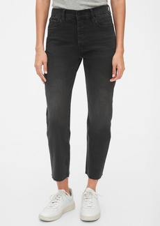 Gap High Rise Cheeky Straight Jeans with Secret Smoothing Pockets