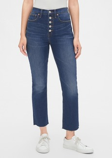 Gap High Rise Crop Boot Jeans with Secret Smoothing Pockets