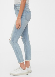 Gap High Rise Curvy True Skinny Ankle Jeans with Secret Smoothing Pockets