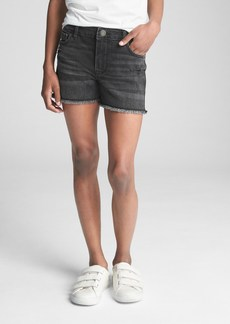 Gap High Rise Distressed Shorty Shorts