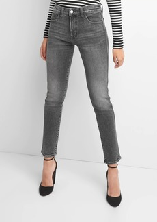 Gap High Rise Slim Straight Jeans