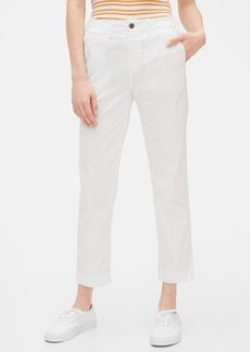 Gap High Rise Straight Khakis