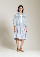 0e473b7ae65 Gap High Rise Stripe Smocked Skirt Gap High Rise Stripe Smocked Skirt ...