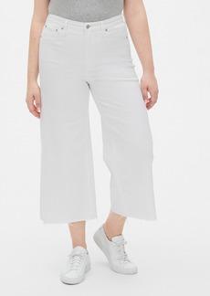Gap High Rise Super Wide-Leg Crop Jeans