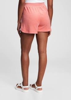 Gap High Rise Towel Terry Shorts