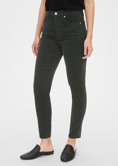 Gap High Rise True Skinny Cords with Secret Smoothing Pockets