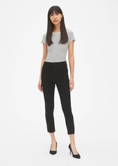 Gap High Rise True Skinny Crop Jeans with Raw Hem