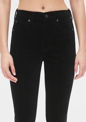 Gap High Rise Velvet True Skinny Ankle Jeans with Secret Smoothing Pockets